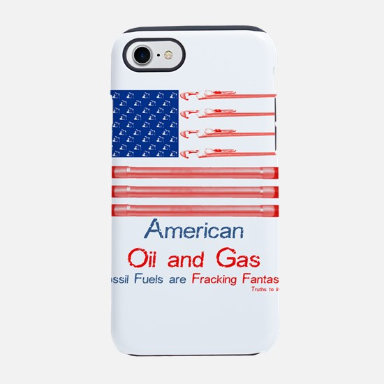 American oil and gas flag iPhone 8/7 Tough Case