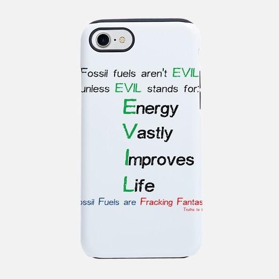 Funny Oil field iPhone 8/7 Tough Case