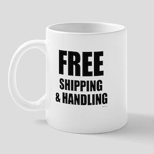 Free shipping & handling ~  Mug