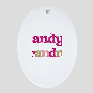 Randy's Grandma Oval Ornament