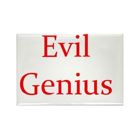 Evil Genius Rectangle Magnet (100 pack)