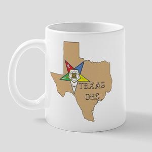 OES Texas Mug