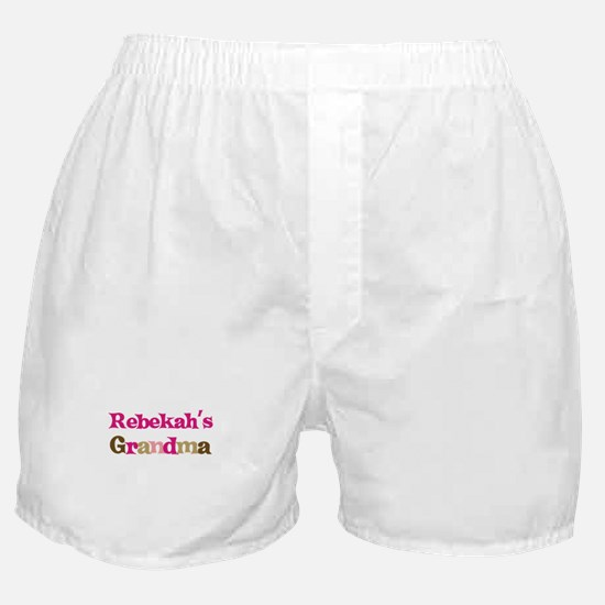 Rebekah's Grandma Boxer Shorts