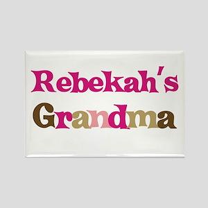 Rebekah's Grandma Rectangle Magnet