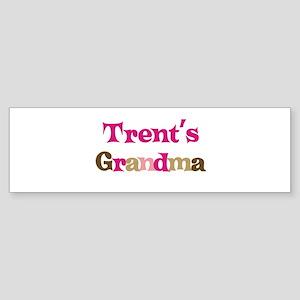 Trent's Grandma Bumper Sticker