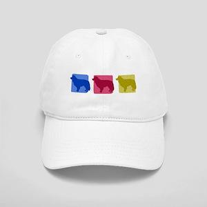 Color Row Border Collie Hat
