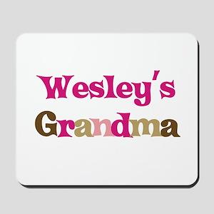 Wesley's Grandma Mousepad