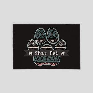 Shar Pei 4' x 6' Rug