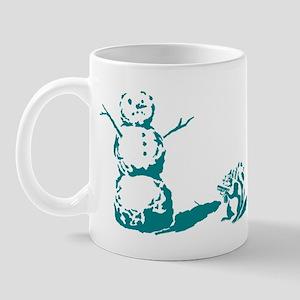 Snow Man Mug