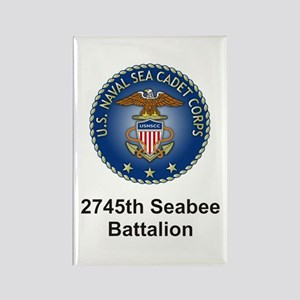 2745th Rectangle Magnet