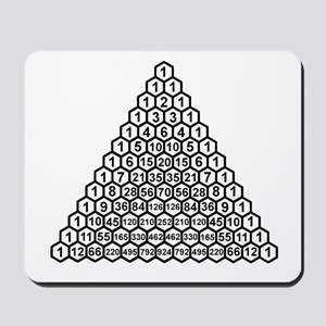 Pascal's Triangle Mousepad