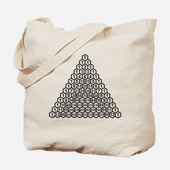 Pascal's Triangle Tote Bag