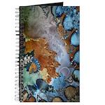 Beautiful Blues Pattern Journal