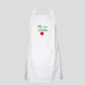 Kiss Me I'm Irish Light Apron