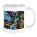Beautiful Blues Design Mug