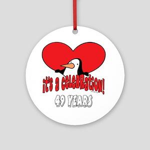 49th Celebration Ornament (Round)