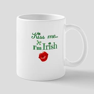 Kiss Me I'm Irish Mugs