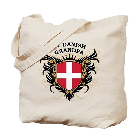 Number One Danish Grandpa Tote Bag