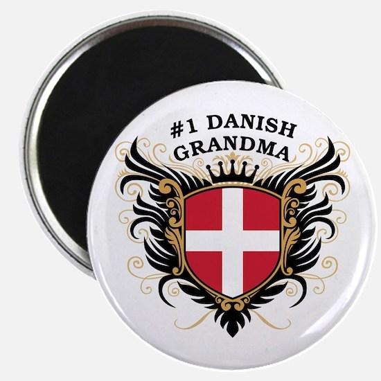 Number One Danish Grandma Magnet
