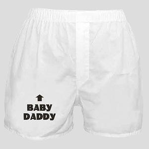 Baby Daddy Matching Boxer Shorts