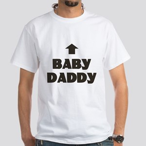 Baby Daddy Matching White T-Shirt