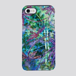 Dragonflies Forest Light iPhone 8/7 Tough Case