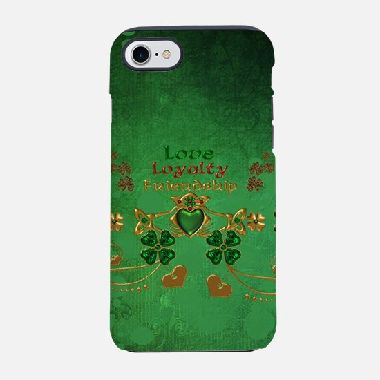 Happy St. Patrick's day design with heart iPhone 8