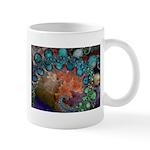 Beautiful Blues Fractal Mug