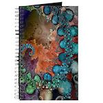 Beautiful Blues Fractal Journal