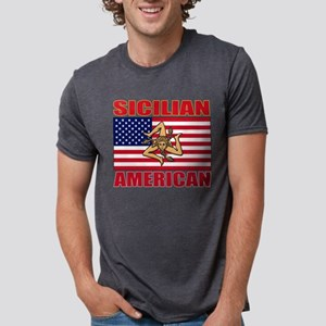sicilian american a(blk) T-Shirt