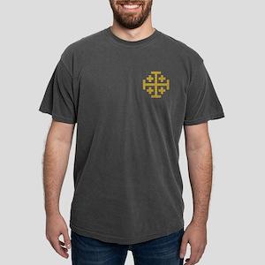 Crusaders Cross Mens Comfort Colors Shirt