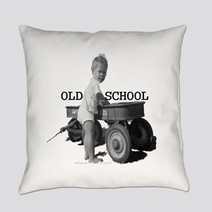Old School Everyday Pillow