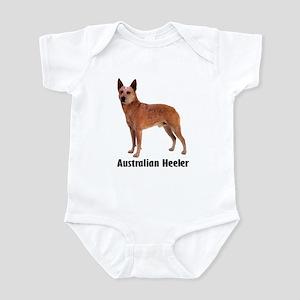 Australian Heeler Cattle Dog Infant Bodysuit