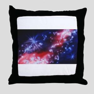 Galactic Night Throw Pillow