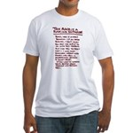 A Man's Business -  Fitted T-Shirt