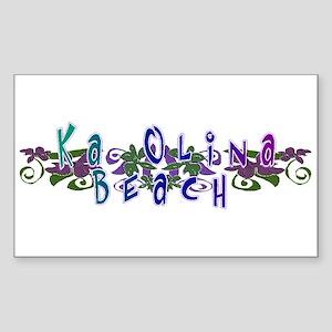 Ka Olina Beach Rectangle Sticker