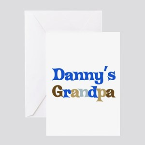 Danny's Grandpa Greeting Card