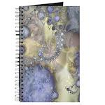 Pretty Pastels Fractal Pattern Journal