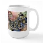 Pretty Pastels Fractal Design Large Mug