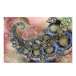 Pretty Pastels Fractal Design Postcards (8)