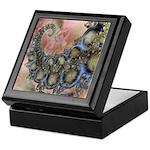 Pretty Pastels Fractal Design Keepsake Box