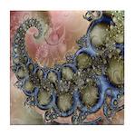 Pretty Pastels Fractal Design Tile Coaster