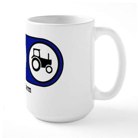 Eat, Sleep, Farm Large Mug