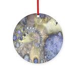 Pretty Pastels Fractal Pattern Keepsake (Round)