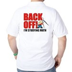 Back Off Math Golf Shirt