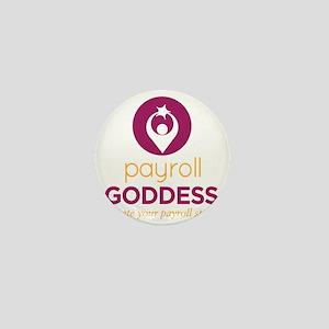 Payroll Goddess Gear Mini Button