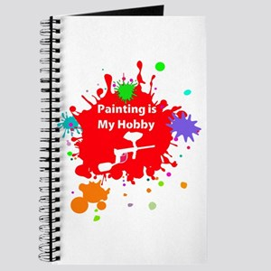 Painting is my hobby paintball Journal