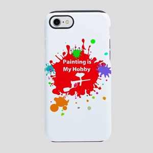 Painting is my hobby paintba iPhone 8/7 Tough Case