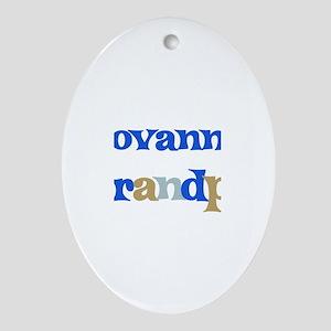 Giovanni's Grandpa Oval Ornament