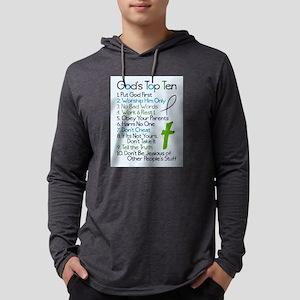 Gods top ten Long Sleeve T-Shirt